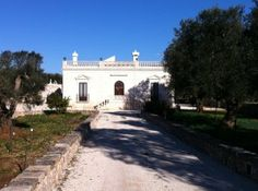 Villa and Trulli in Puglia | A wonderful Villa built in 1800 in Art Nouveau style, located in Francavilla Fontana, near Brindisi, entirely of stone, raised by about a meter from the floor with entrance via staircase, with stone balustrade typical of its time
