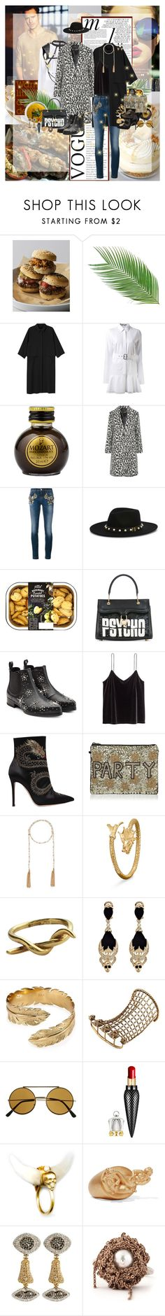 """""""Almost Classy"""" by lady-redrise ❤ liked on Polyvore featuring Neiman Marcus, Whiteley, By Emily, Monki, Victoria Beckham, Maje, Dolce&Gabbana, Henri Bendel, Olympia Le-Tan and Alexander McQueen"""