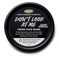 Don't Look At Me Fresh Face Mask - in shops only