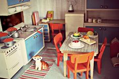 Vintage Lundby kitchen