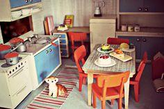 Vintage Lundby kitchen