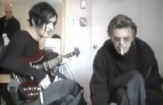 Placebo ft. David Bowie 'Without You I'm Nothing' Backstage (Irving Plaz...