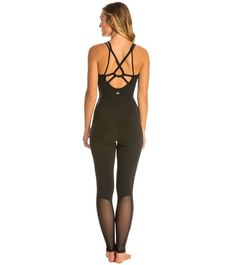 Super sleek and stylish, this Rebel Unitard is a new way to stretch in the studio. This one piece is made with comfortable stretch material that helps wick away moisture. Dance Fashion, Yoga Fashion, Sport Fashion, Fitness Fashion, Yoga Wear, Dance Wear, Dance Outfits, Sport Outfits, Cute Workout Outfits