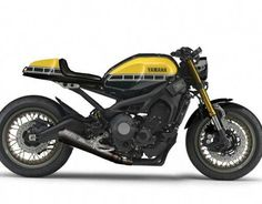 Take a look at a handful of my well liked builds - stylish scrambler motorcycles like this Buell Cafe Racer, Yamaha Cafe Racer, Cafe Moto, Cafe Bike, Cafe Racer Build, Yamaha Motorcycles, Cafe Racers, Yamaha Sport, Modern Cafe Racer