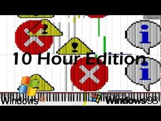 Made by: KF 2015 10 Hour edition made under popular request, rendering took 14 hours, uploading and processing around 6 hours, this video was 44 GB big Origi. Windows Xp, Original Song, Notes, Music, Youtube, Black, Musica, Report Cards, Musik