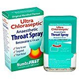 Ultra Chloraseptic Throat Spray Original Menthol Flavour x 15ml