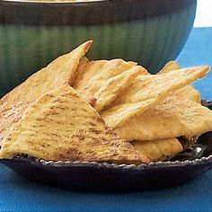 Toasted Pita Chips - FineCooking