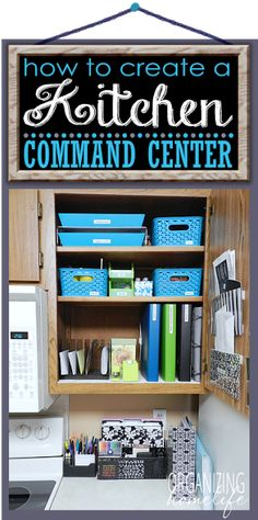 The O.C.D. Life: Friday Inspiration: Kitchen Command Centers!