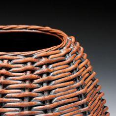 Schaller Gallery : Artist : Jennifer FitzGerald : Large Basket Vase
