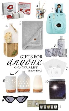 I put together a mix of gifts I personally gifted in the past, or would love to receive! Christmas Shopping, Christmas Gifts, Gender Neutral, My Mom, My Best Friend, Gift Guide, The 100, Boyfriend, Fashion Bloggers