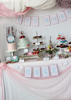 Wants and Wishes: Party planning: Let them eat Cake- Marie Antoinette Bridal Shower