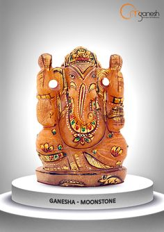 The mighty manifestation of His eminent strength & power is with the courtesy of Om Ganesh Crafts.
