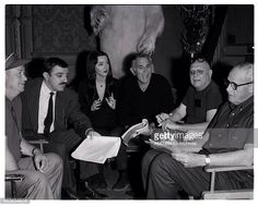 """Behind the scenes """"The Addams Family"""" Addams Family Tv Show, Family Tv Series, Tv Retro, School Tv, Morticia Addams, Tv Land, Tv Times, Photo Archive, On Set"""