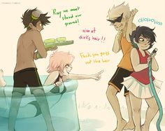 ikimaru: they're fighting over who gets to use the kiddie pool next