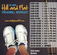 30-Minute Hill and Flat Treadmill Workout