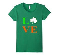 Women's  Irish Shamrock Love T-Shirt St. Patricks Day Shi... https://www.amazon.com/dp/B06XDQQHV5/ref=cm_sw_r_pi_dp_x_PVKUybB9FWW57