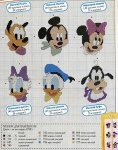Sandrinha Cross Stitch: Disney Baby