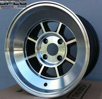 "15"" Rota Shakotan wheels available in 7-9"" widths and various offsets. Look perfect on BMW E21."