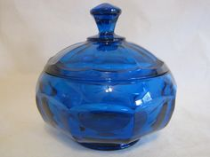 Isn't this Viking Glass candy dish a beautiful color!