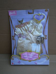 Barbie & Ken Princess Pauper Anneliese Fashion Pack Outfit 2004 Mattel No Doll Doll Clothes Barbie, Vintage Barbie Dolls, Mattel Barbie, Barbie And Ken, Concert Fashion, Doll Outfits, Polly Pocket, Disney Bound, Princesses