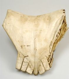18th century pair of stays, in 6 layers. Outer layer of grey silk. Kulturen, Lund, Sweden. http://carl.kulturen.com/web/object/26395