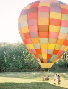 hot air balloon engagement // jose villa