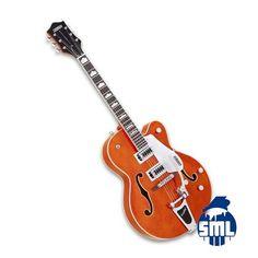 Guitarras elétricas Gretsch, encontra no Salão Musical de Lisboa - Instrumentos Musicais.