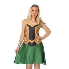 Loki A-Line Dress
