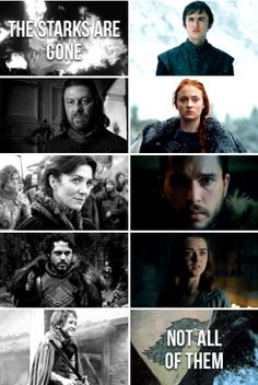 House Stark | season 7 | http://sansastarkthequeen.tumblr.com/post/163014004840