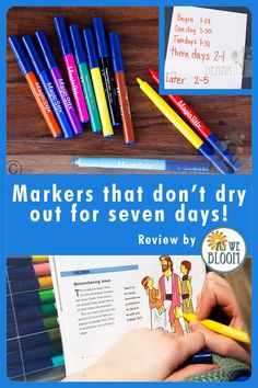 Markers that don't dry out for seven days with the cap off? Read our review at As We Bloom.