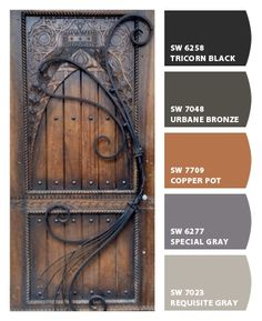 Paint colors ... Sherwin-Williams can I get that door?