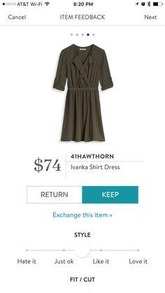 41Hawthorn Ivanka Shirt Dress