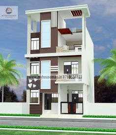Images Of Building Elevation New House Front Elevation Models Images images of house buildings Interior Design Classes, Best Home Interior Design, New Home Designs, Home Design Plans, Building A House Cost, Building Design, Village House Design, House Front Design, Building Elevation