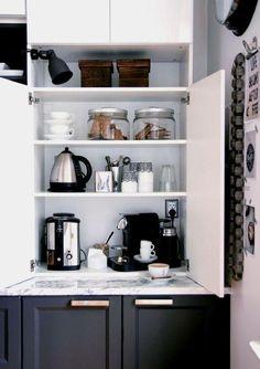 Preparar un buen café en un espacio bonito y práctico