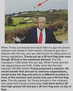 Hahaha... and the American Flag still flies 50 ft high. Go Trump!!! ✊ GOD BLESS AMERICA-- Awesome !