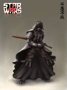 STAR WARS Character Redesign Art