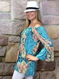 Tee for the Soul - Wild Flower Child Tunic - TUN472TU, $38.00 (http://teeforthesoul.com/new-arrivals/wild-flower-child-tunic-tun472tu/)