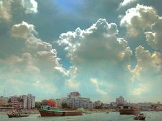 ☔#burigonga #shadarghat #boatman #boats #boating #life #people #sky #clouds #rain #blue #bluesky #river #boat #transport #people #cityside #busylife #love #city#life #afternoon #Riverside #beautiful #dhaka #launch #terminal #bangladesh #Asia