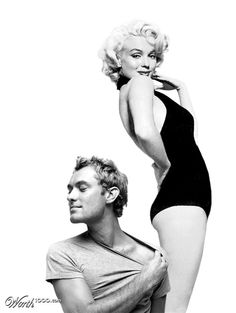 Impossible Celebrity Couples: MARILYN & JUDE