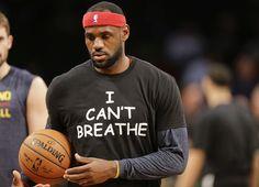 "California High School Ban ""I Can't Breathe"" T-Shirts at Basketball Tournament Good Leadership Skills, Breathe, California High School, Eric Garner, People Magazine, Lebron James, I Cant"
