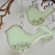 Stunning Christmas Ornament With Stained Glass 04
