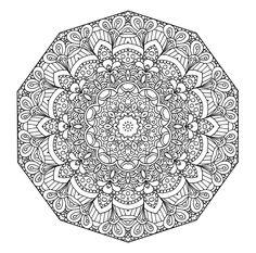 Four More Mandala Coloring Pages - News - Bubblews