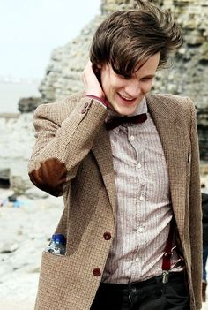 I was watching episodes of Ten, and I brought up a picture of Eleven and told my parents that he would be the next and that he's my favorite... My mom said he was cute... I think I just about died XP