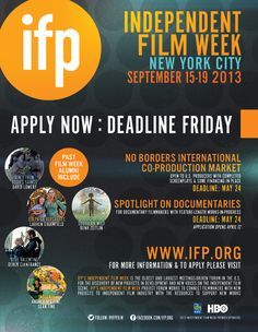 Blu @NY Independent Film Week - 15-19 September 2013 Final Documentary and No Borders Deadlines  This Friday -Deadline!