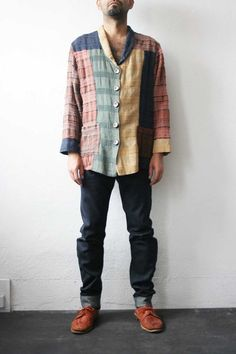 Multi Patchwork Jacket by weltenbuerger on Etsy, $48.00