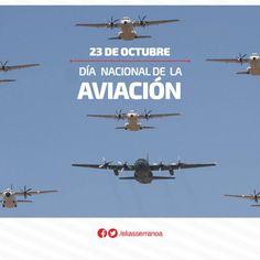 Hoy también conmemoramos el Día Nacional de la Aviación.