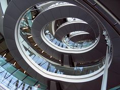 City Hall Staircase, London