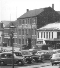 Louis Works and to the right the Salisbury Crown China Works fronting Edensor Road early 1950's