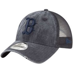 on sale b9ded cc358 Men s Boston Red Sox New Era Navy Tonal Washed 9TWENTY Adjustable Hat
