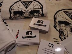 Return to Fleet HydroSkull & Business Card Brand Concept #ReturntoFleet #Invasion #Skulduggery #Brand #Geek #ScreenPrint #Studio #Blog #GeekArt #Tshirts #Products #Website #Life